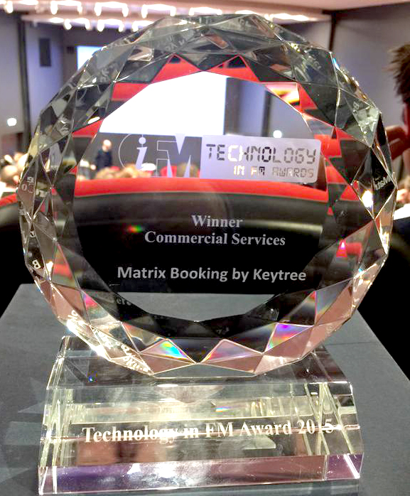 Technology in Facilities Management Trophy